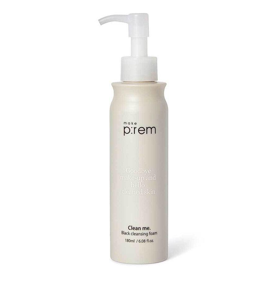 make-prem-black-cleansing-foam-skinsecret