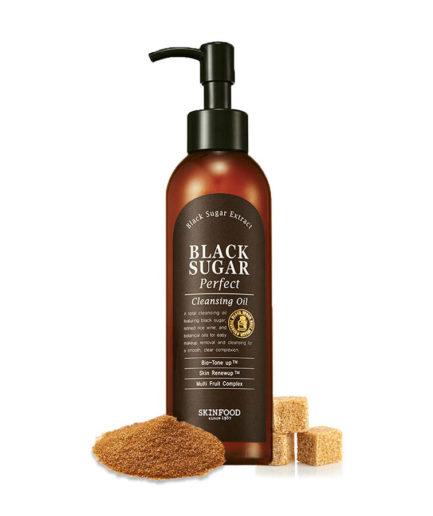 skinfood_black_sugar_perfect_cleansing_oil_skin_secret_koreansk_hudpleie