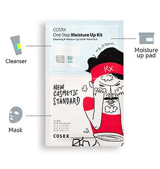 Cosrx Moisture Up kit pad
