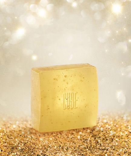 Cube-soap-gullsåpe