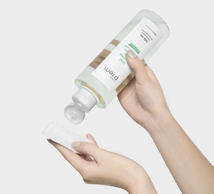 Make-Prem-safe-relief-cleansing-water-rensevann-koreansk-hudpleie