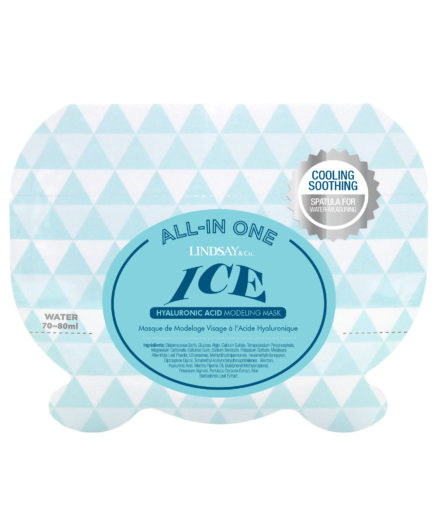 LINDSAY Ice Hyaluronic All-in One Modeling Mask