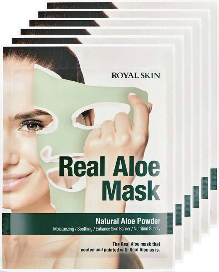 Royal Skin Real Aloe Vera Mask x 5