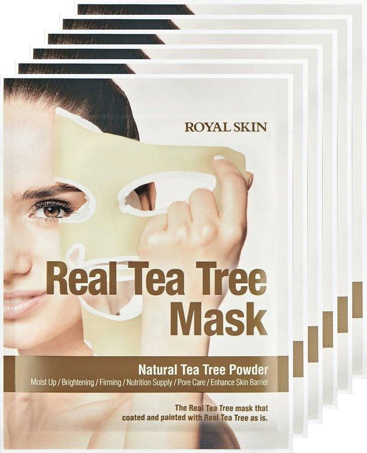 Royal Skin Real Tea Tree Mask x 5