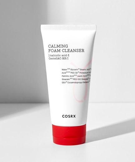 Calming_Foam_cleanser_COSRX_skinsecret_koreansk_hudpleie