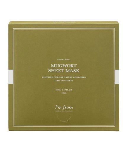 I'm from Mugwort Sheet Mask Box