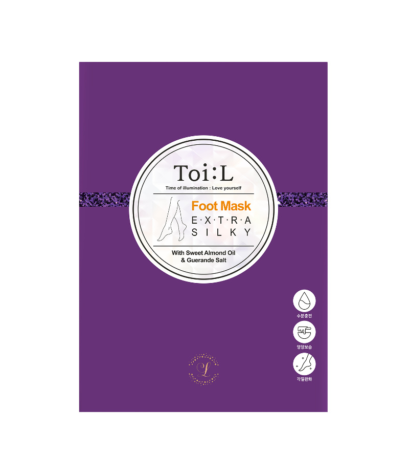 ToiL Extra Silky Foot Mask Box