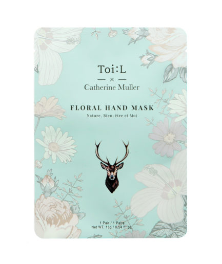 ToiL x Catherine Muller Floral Hand Mask Pouch