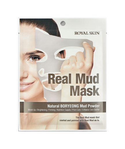 real mud mask single