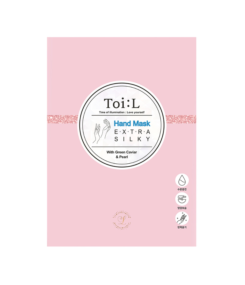 toil silky hand mask box