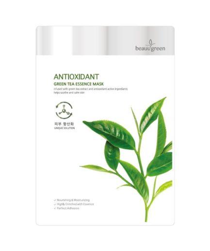 Beauugreen Antioxidant Green Tea Essence Mask