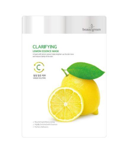 Beauugreen Clarifying Lemon Essence Mask