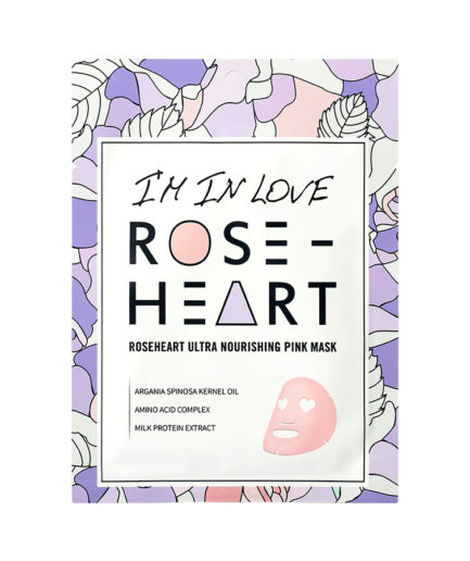 im in love roseheart sheetmask