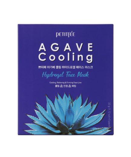 Petitfee Agave Cooling Hydrogel Sheet Mask Boks