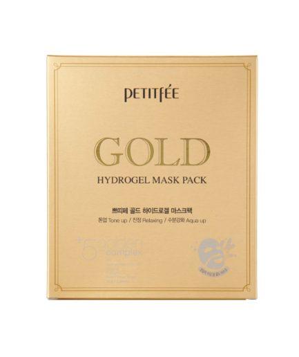 Petitfee Gold Hydrogel Face Mask Boks