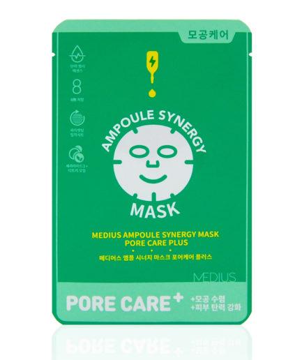 medius-ampoule-synergy-mask-pore-care-plus