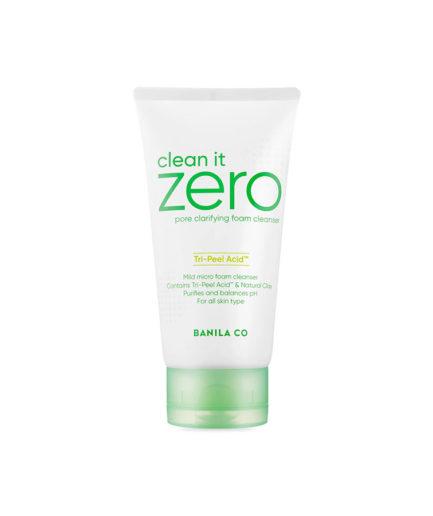 Banila_Co_pore-clarifying_foam_cleanser_Tri_Peel_acid_skinsecret
