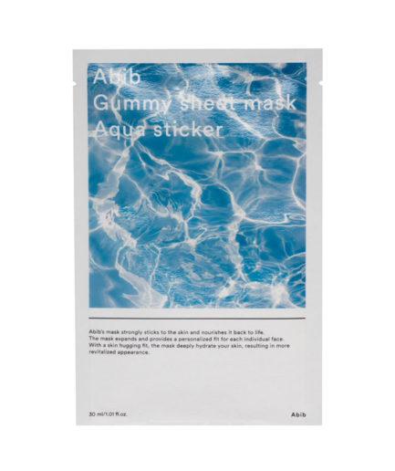 abib_gummy_sheet_mask_aqua_sticker_skinsecret_koreansk_hudpleie