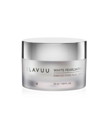 Klavvu_white-Pearlsation_Enriched_pearl_cream_koreansk_hudpleie_skinsecret
