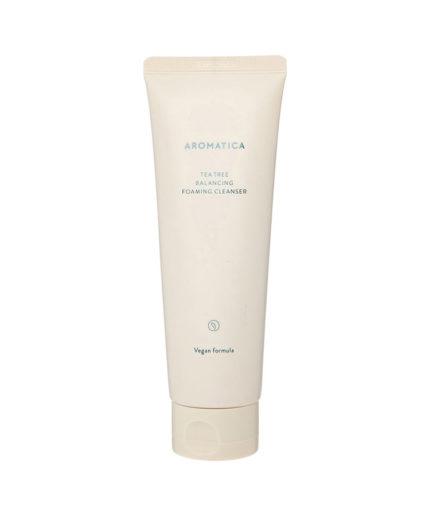 aromatica_tea_tree_balancing_foaming_cleanser_skin_secret_koreansk_hudpleie