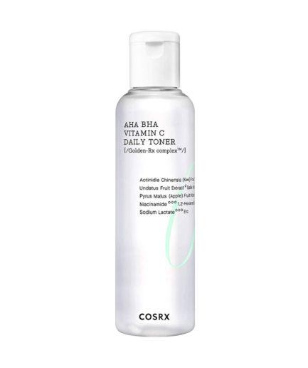 COSRX_aha_bha_vitaminC_daily_refresh_toner_skin_secret_koreansk_hudpleie