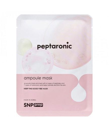 SNP_Prep_Peptaronic_ampoule_sheet_mask_skin_secret_koreansk_hudpleie