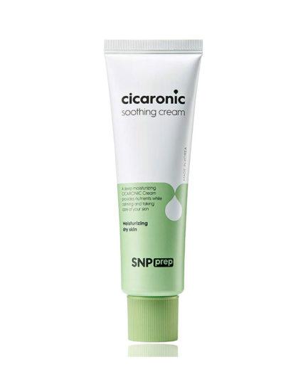 SNP_Prep_cicaronic_soothing_cream_skin_secret_koreansk_hudpleie