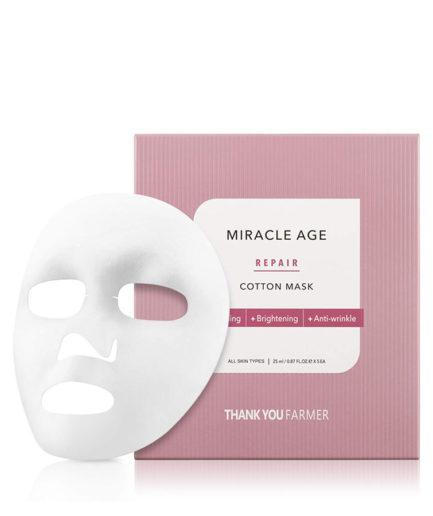 thank_you_farmer_miracle_age_repair_cotton_mask_skin_secret_koreansk_hudpleie