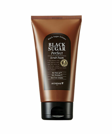 Skinfood_black_sugar_perfect_scrub_foam_skin_secret_koreansk_hudpleie